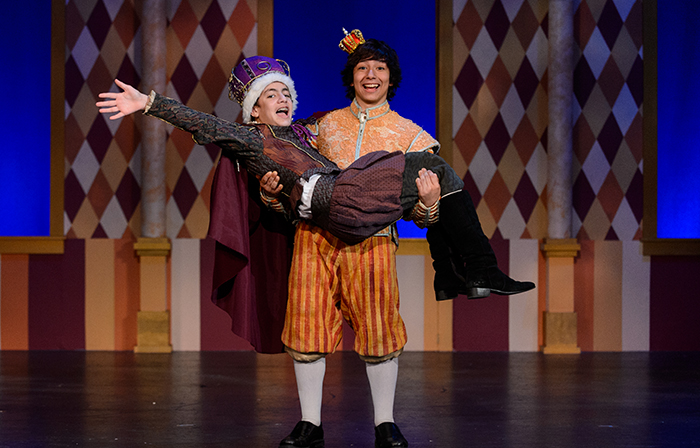 Once Upon a Mattress on the PGT Mainstage