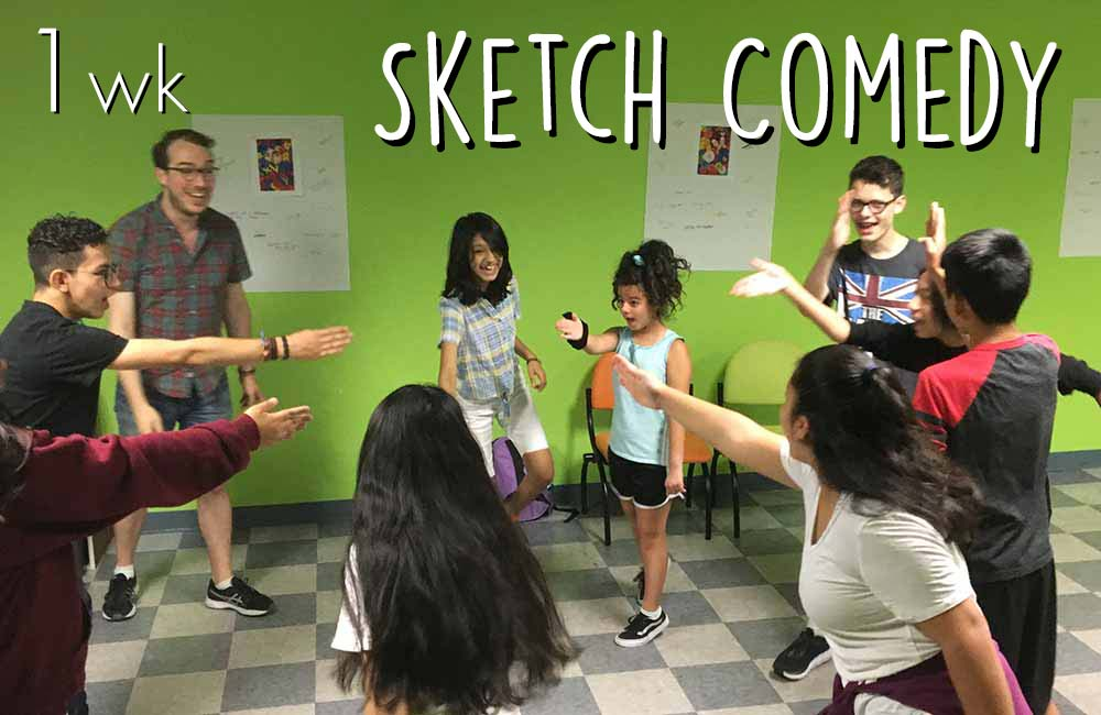 Sketch Comedy at The Play Group Theatre