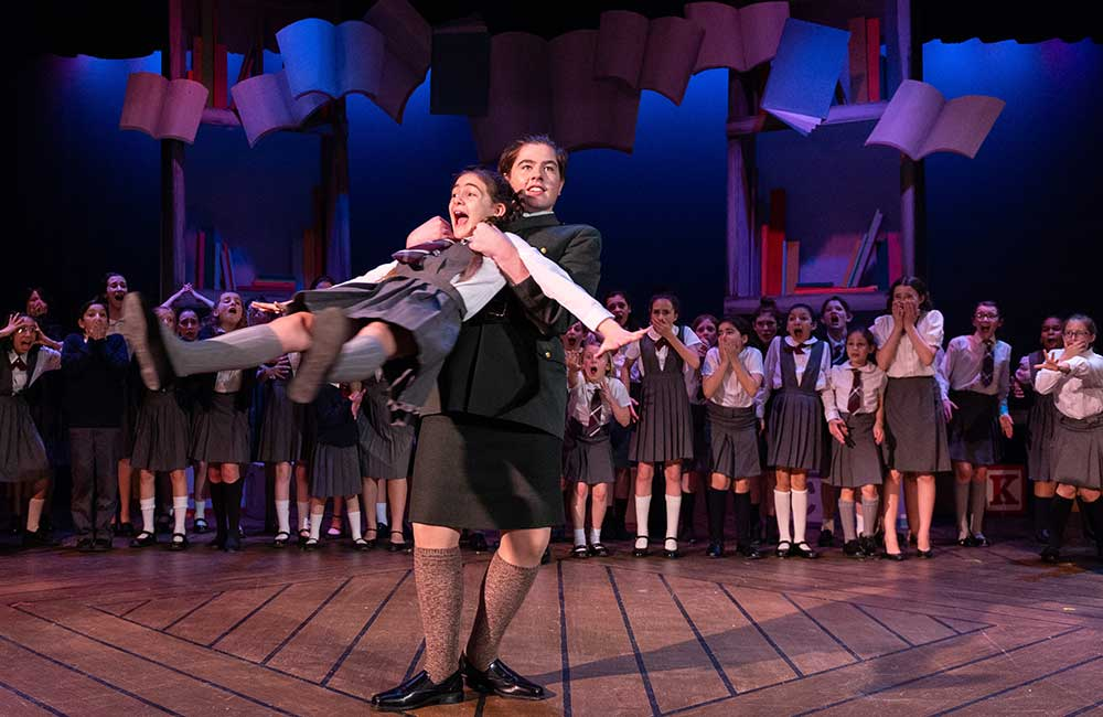 Matilda, the Musical on the PGT Mainstage