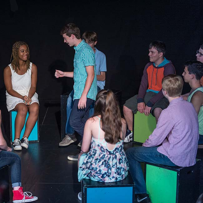 Teen Co at The Play Group Theatre